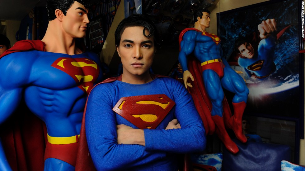 Filipino fashion designer Herbert Chavez underwent plastic surgery to transform himself into Superman. He had his nose thinned and a cleft made in his chin. He also had silicone injected for fuller lips, liposuction to flatten out his abdomen and implants to bulk up his buttocks and hips.