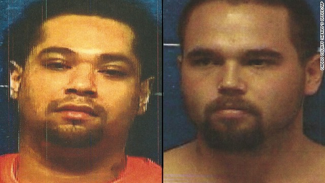 Triston Cheadle and Anthony James Mendonca were captured in Anadarko, Oklahoma.