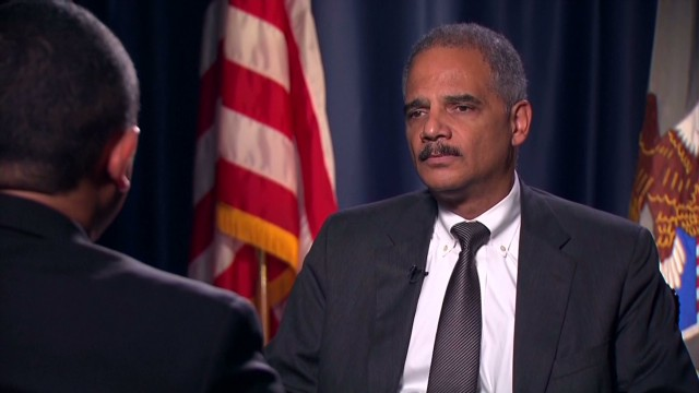 CNN Exclusive: Holder fears 'lone wolf'