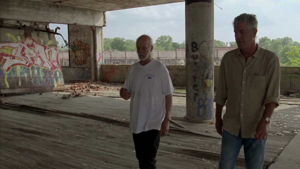 "Despite its decay, ""Detroit isn't just a national treasure. It IS America,"" <a href=""http://www.cnn.com/video/shows/anthony-bourdain-parts-unknown/season-2/detroit/"">Bourdain said</a>. ""And wherever you may live, you wouldn't be there -- and wouldn't be who you are in the same way -- without Detroit."""