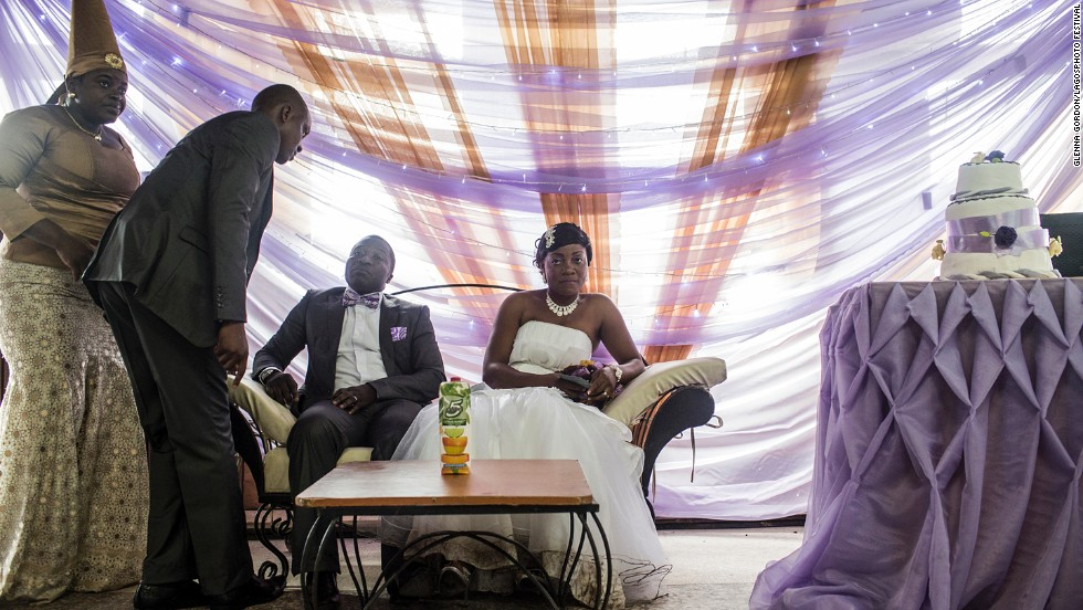 <em>Nigerian Wedding (2012-2013)</em>, by American documentary photographer Glenna Gordon.
