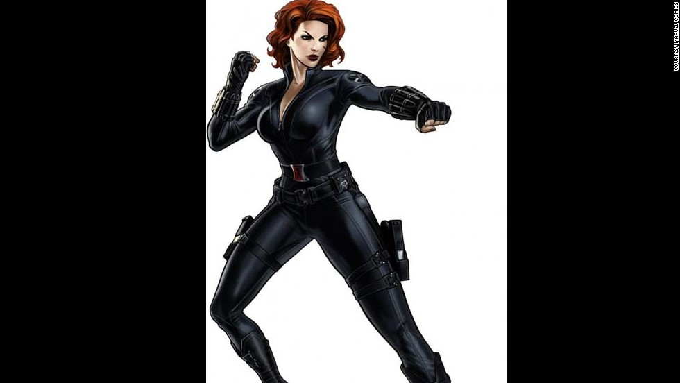 Marvel's Natasha Romanoff, the Black Widow, made her first appearance in 1964.