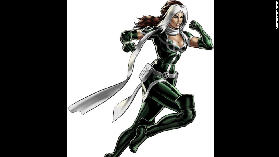 The X-Men's Rogue, whose name was later revealed to be Anna Marie, made her first appearance in 1981.