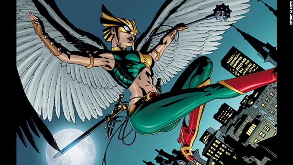 Shiera Sanders, Hawkgirl, made her first appearance in the DC Universe in 1940.