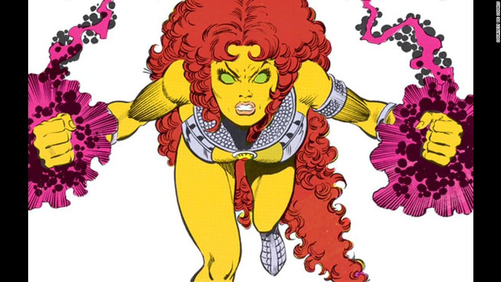 Princess Koriand'r of Tamaran, better known as DC's Starfire, made her first appearance in 1980.
