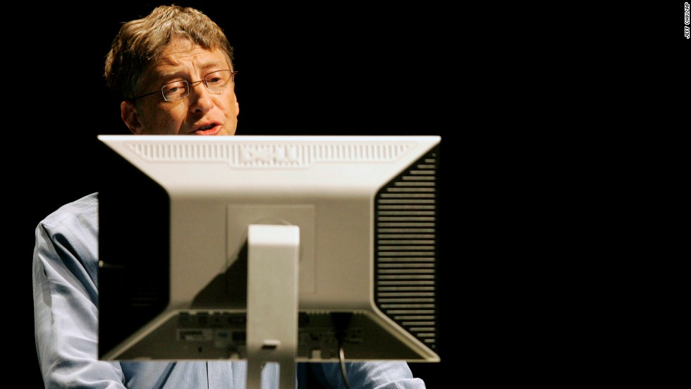 "<strong>Business executive:</strong> Bill Gates (<a href=""https://twitter.com/BillGates"" target=""_blank"">@BillGates</a>) has 14.9 million followers. His bio reads: ""Sharing things I'm learning through my foundation work and other interests..."""