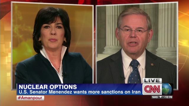 Senator calls for more Iran sanctions
