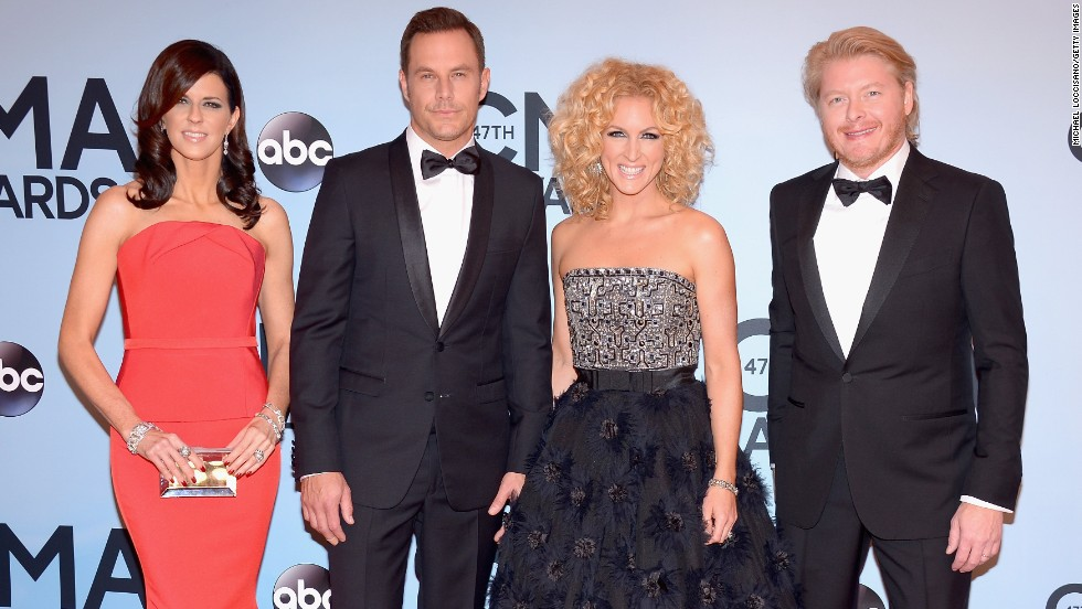 From left, Karen Fairchild, Jimi Westbrook, Kimberly Schlapman and Phillip Sweet of Little Big Town