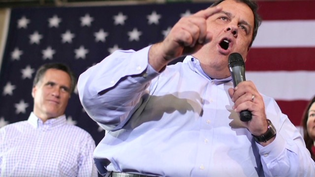 Gov Christie in the national spotlight