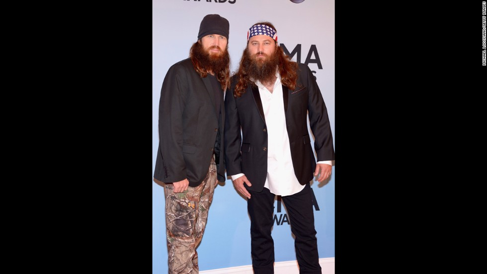 Jase Robertson and Willie Robertson