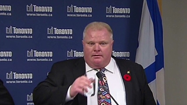 Did Toronto Mayor just get more popular?