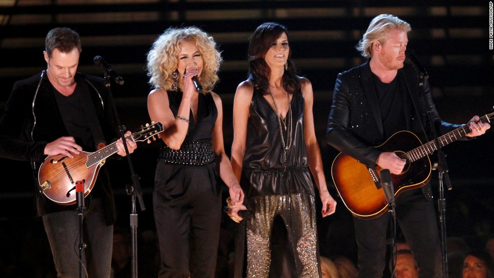 <strong>Vocal group of the year:</strong> Little Big Town