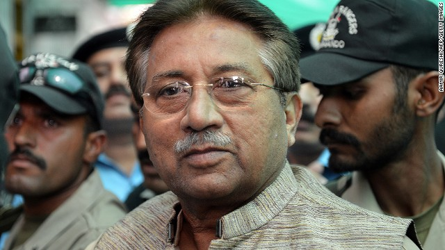 Former Pakistan leader Musharraf declared fugitive in Bhutto murder case