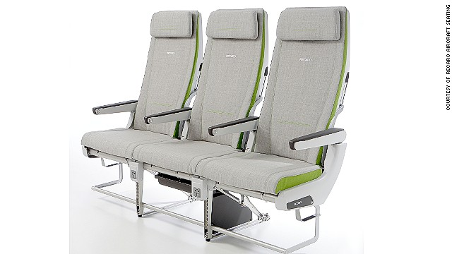 Seat manufacturer Recaro built the CL3710 to be slimmer so that passengers get more legroom.