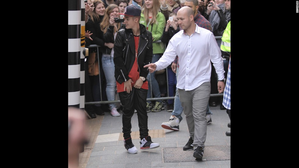 "In April 2013, Bieber visited the Anne Frank House in Amsterdam -- <a href=""http://www.cnn.com/2013/04/14/showbiz/bieber-anne-frank/index.html?iref=allsearch"">and was promptly criticized for saying</a> that he hoped the teen, who died in a Nazi concentration camp in 1945, would have been a ""Belieber."" Visitors to the Anne Frank Facebook page had plenty to say. ""Glad he went, but, the last sentence is VERY self serving. he missed the lessons of Anne totally,"" wrote one observer."
