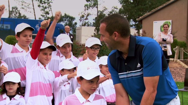 Sergio Garcia on giving back