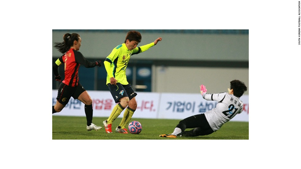 """Park's gender was tested by Korean Football Association in 2004 when she was selected to national team for Athens Olympics,"" read a statement from the Seoul City Sports Council. ""The demand from coaches from six different clubs to test the gender of Park again is double jeopardy. This is betraying the fundamental human rights of a player which should be protected at all means."""