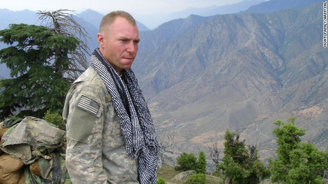 Army Sgt. 1st Class Jared Monti was killed in Afghanistan