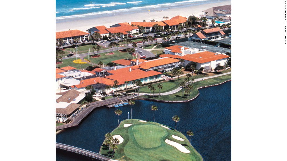 Ponte Vedra Inn & Club in Florida offers easy beach access, a pool and lagoon excursions.