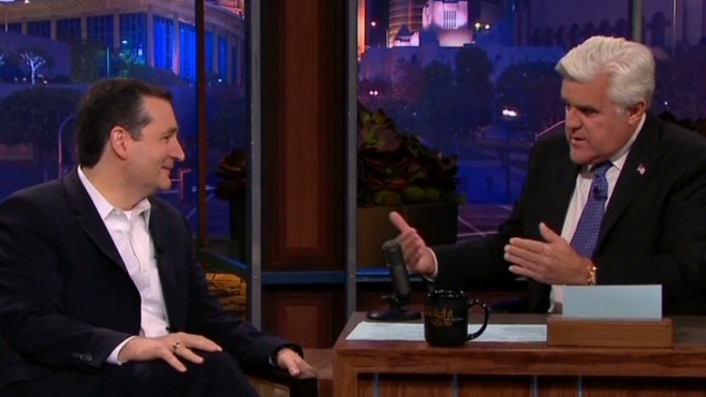 Ted Cruz makes late-night debut