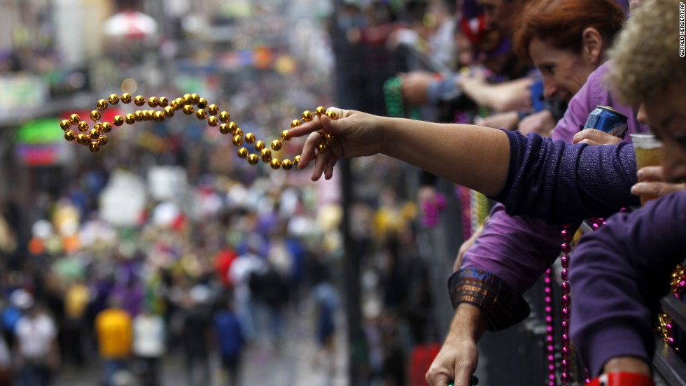 Mardi Gras is best celebrated like a local -- do what's necessary to land a spot on a balcony overlooking the French Quarter, the book suggests. Not only is the view much better, but you're less likely to fall victim to flying vomit.