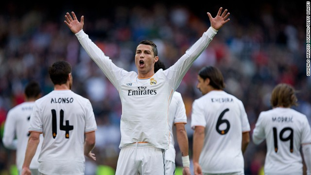 Cristinao Ronaldo wins 2013 Ballon d'Or