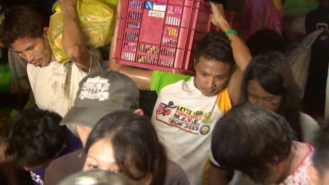 Tacloban City residents plead for help