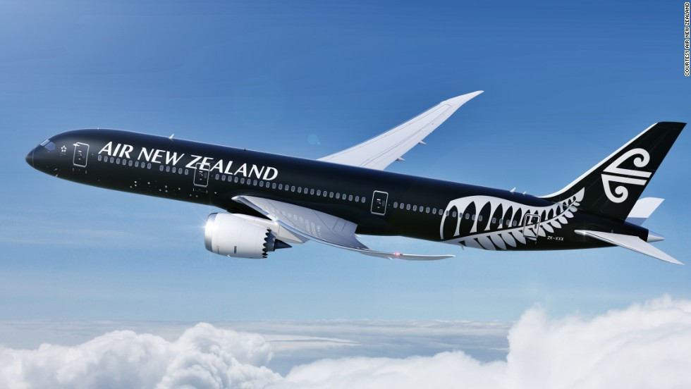 The debut aircraft was painted in a special edition livery, featuring the New Zealand fern on the back end of the fuselage. Flights will initially take place between Auckland and Perth starting October 2014, and extend to Tokyo and Shanghai a month later.