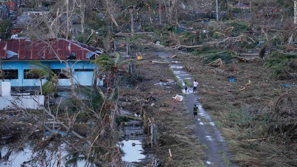 Tacloban on November 9