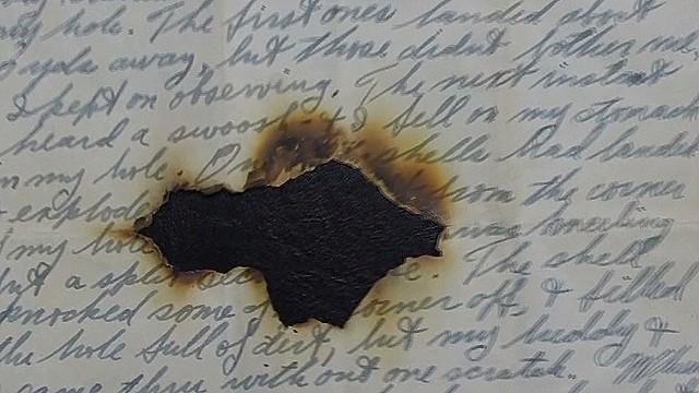 War letters offer a peek into history