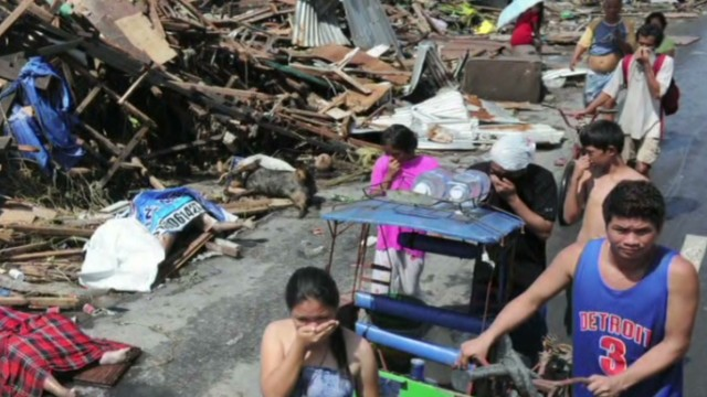 Typhoon victim: This is worse than hell