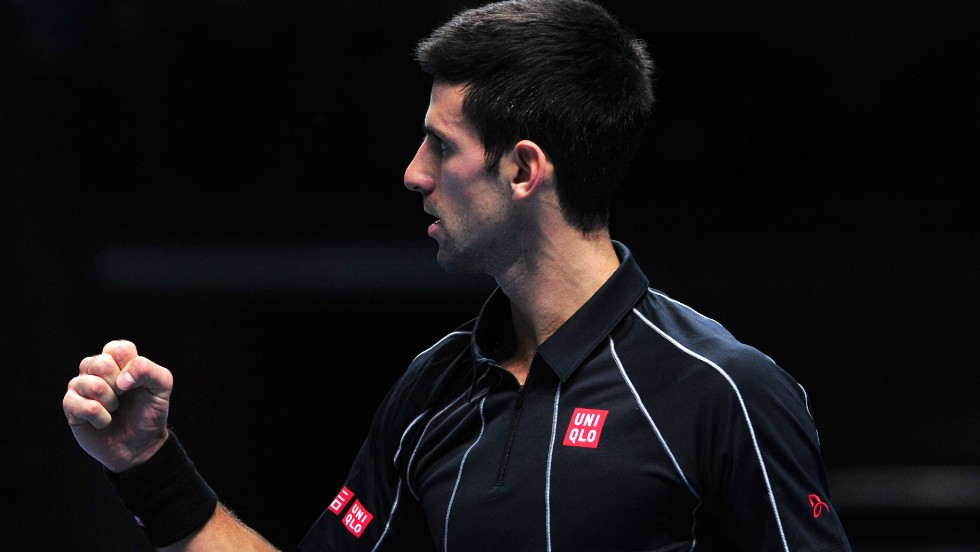 Djokovic was never headed in the final as he wrapped up the opening set with two breaks of service.