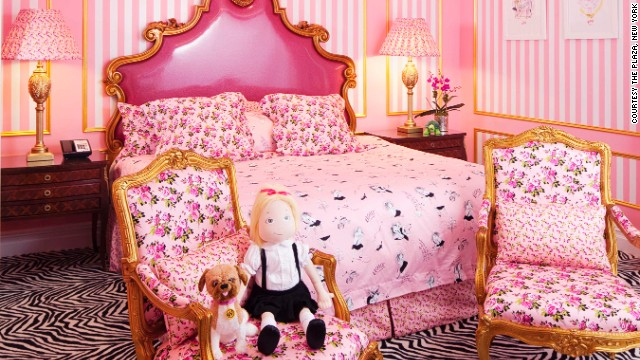 "The room designed after ""Eloise."""