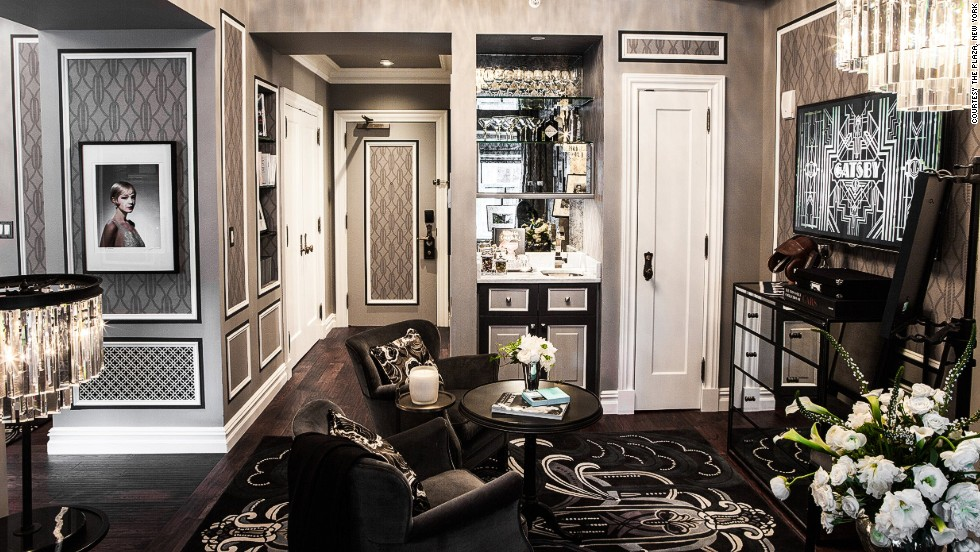 """F. Scott Fitzgerald and his wife Zelda were regular patrons of The Plaza. As a tribute to the writer, the hotel unveiled The Fitzgerald Suite earlier this year. It was designed by Catherine Martin, the co-producer of Baz Luhrmann's adaption of """"The Great Gatsby."""""""