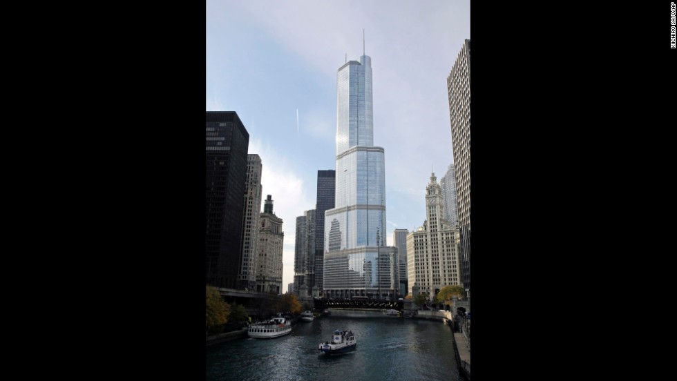 Completed in 2009, this Trump tower rises to an architectural height of 1,389 feet (423.2 meters) and is occupied to a height of 1,116 feet (340.1 meters).