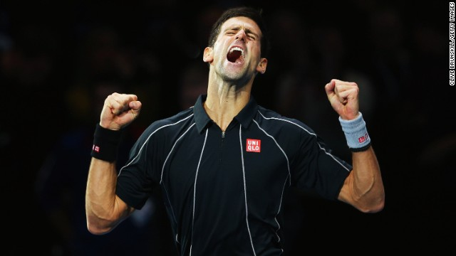 Novak Djokovic wins the ATP World Tour final