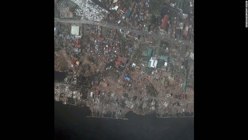 After: Tacloban on November 10