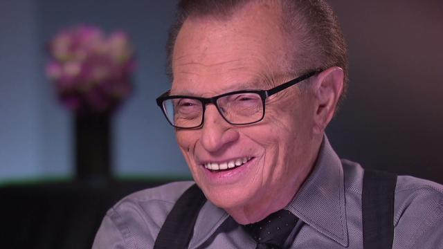 Larry King celebrates 80th birthday