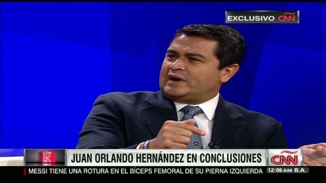 cnnee conclusiones part 1 Juan Orlando Hernández _00033608.jpg