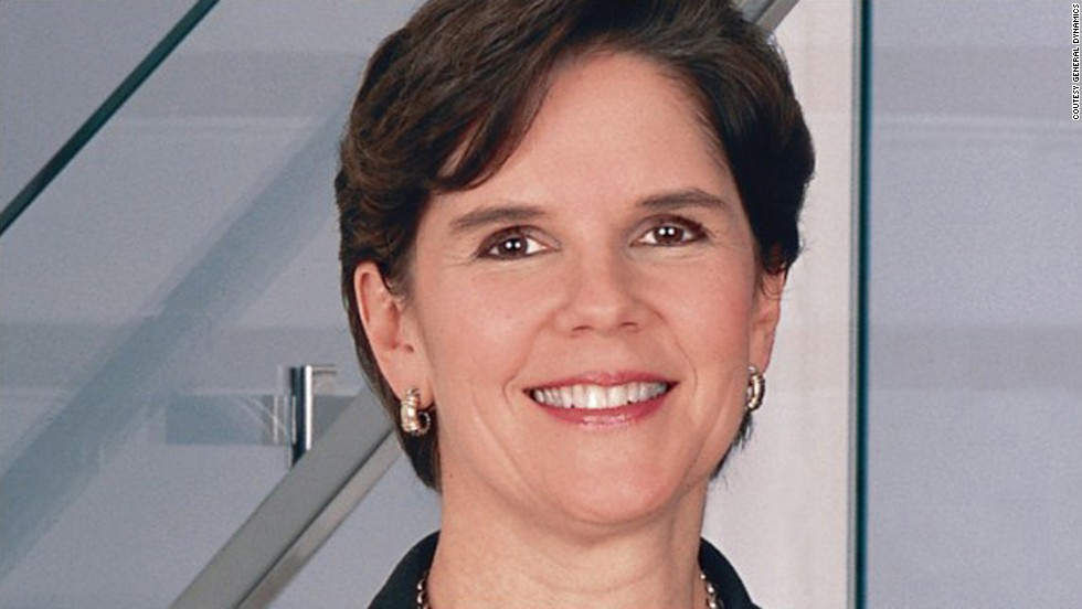 Phebe N. Novakovic is the chairman and CEO for General Dynamics, which ranked 98th this year.