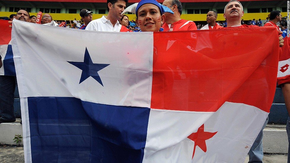 Panama's flag is widely displayed on ships using the country's emblem as a flag of convenience. The country also has an alternate version, making it one of the few nations to have more than one national pennant.