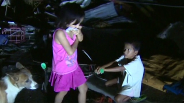 Typhoon survivors: Where is the help?