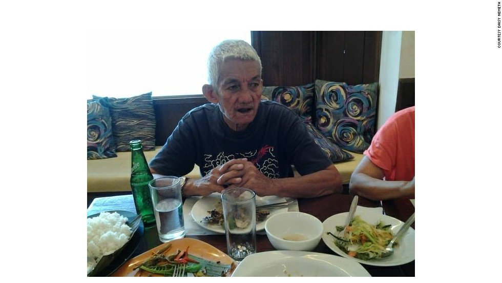 This is a file photo of Tan, supplied by his niece Daisy Nemeth, who has been trying to find 30 members of her family missing since Super Typhoon Haiyan struck Tacloban on Friday.