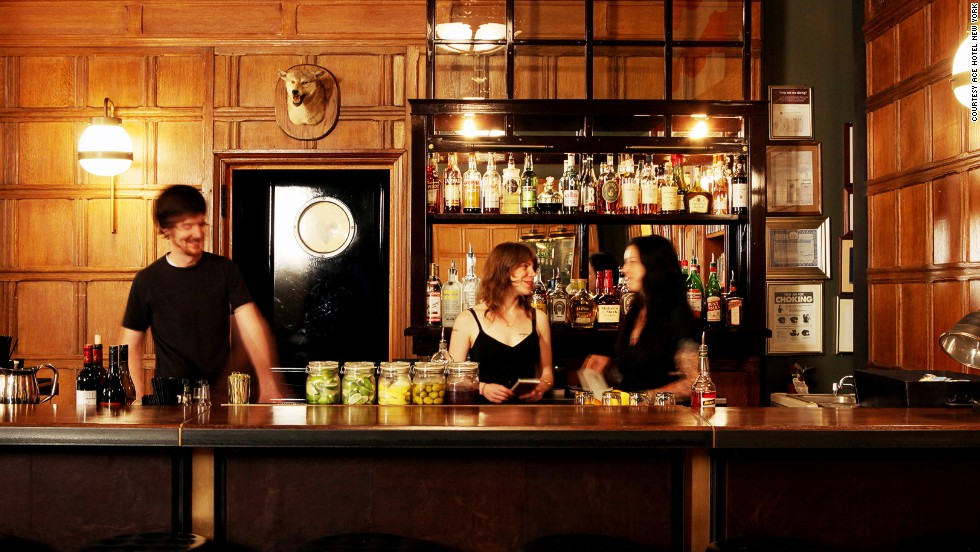 This one was a no-brainer. A New York favorite, the ever-crammed, quirky <strong>Ace Hotel</strong> bar was the winner in the Best Hotel Bar category.