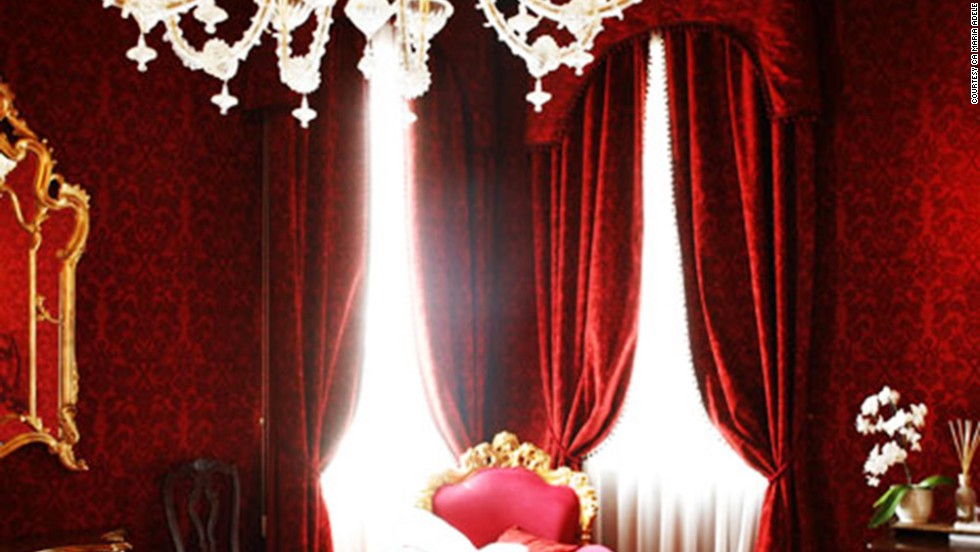 """<strong>Ca Maria Adele</strong> hotel in Venice, described by judge and burlesque dancer Immodesty Blaize as a """"fantasy cocoon,"""" was one of the runners-up in the world's sexiest bedroom category."""