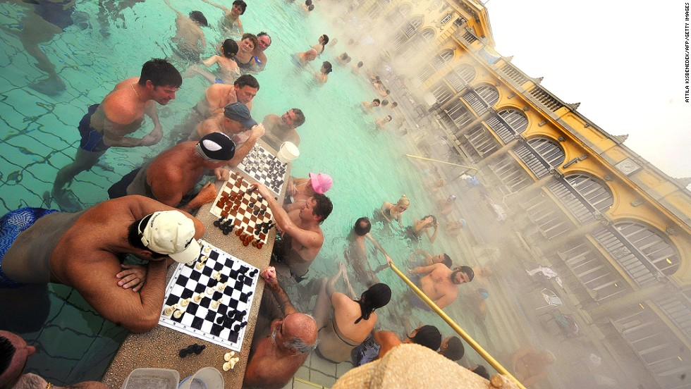 There are more than a thousand hot springs in the country and 118 in the capital, Budapest, alone.