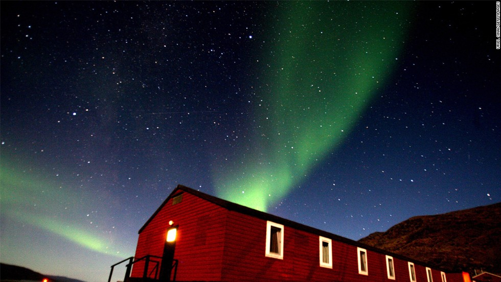 Dog-sledding in Greenland + viewing the Northern Lights = unforgettable experience.