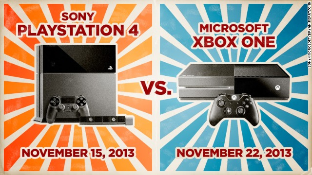 It's Sony versus Microsoft in a battle of new video game consoles hitting the market in the coming days.