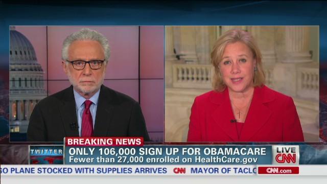 Sen. Landrieu defends Obamacare promise