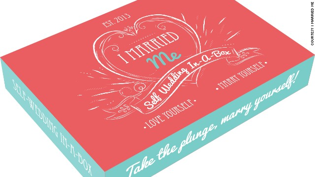 The I Married Me kit gives people the chance to celebrate their single lives.